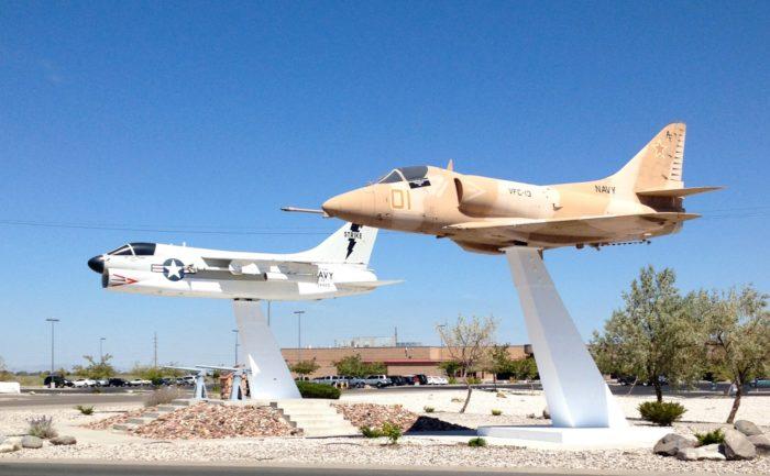 1. Fallon Naval Air Station, Fallon