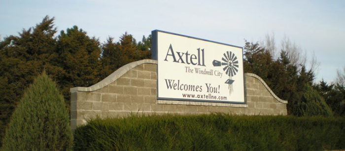 10. Axtell, Kearney County, population 726