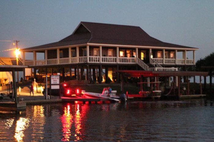 4) Bayou Log Cabin, Breaux Bridge
