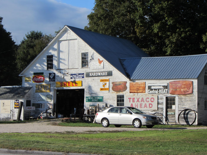 Go treasure hunting in one of Bethel's many antique shops.