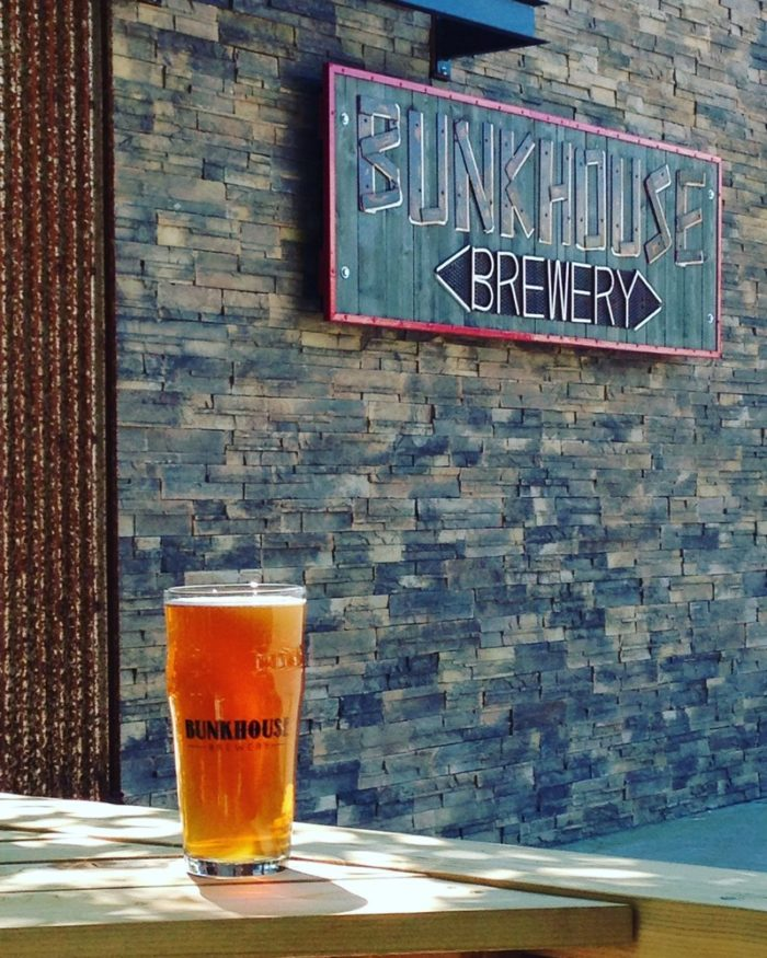 Sample your way to the Bunkhouse Brewery.