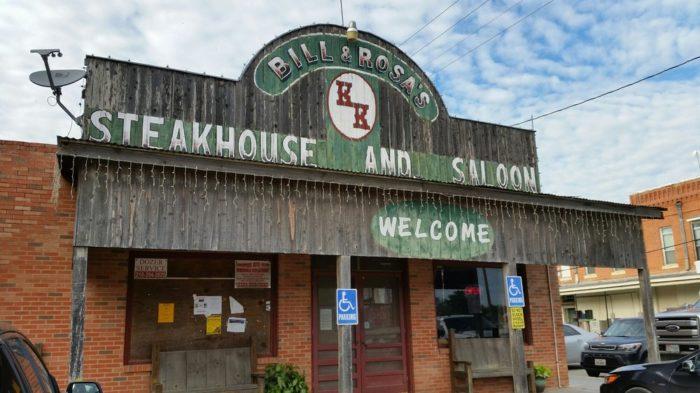 7. Bill & Rosa's KK Steakhouse (D'Hanis)
