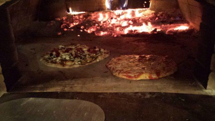 brick ove pizza