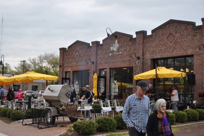 In fact, the farm market holds its own as a destination as well. Visit on 10/15 for Hogtoberfest.