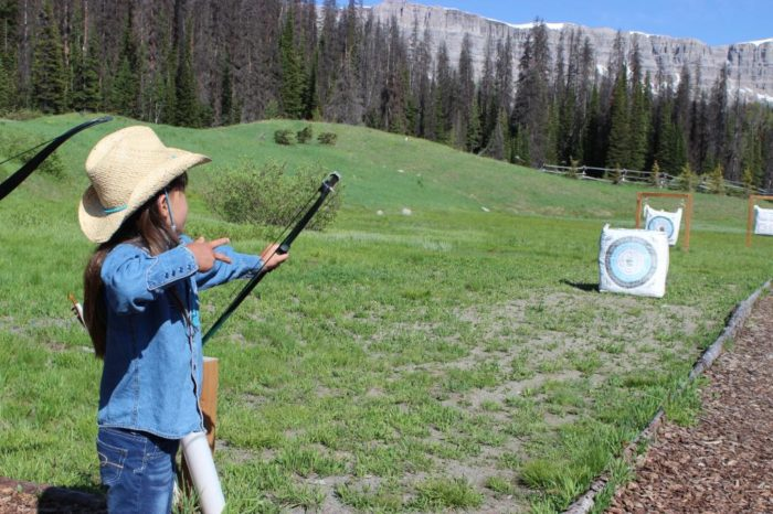 You can hone up on your target practice among the most beautiful scenery in the Rocky Mountains. Of course there is always hiking, luxury overnight pack trips, canoeing, kids' activities and big game hunting.