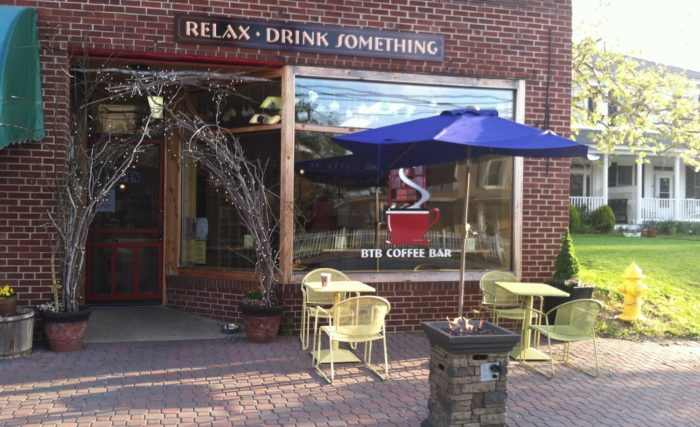 Head to Leonardtown and you'll find the charming BTB Coffee Bar.