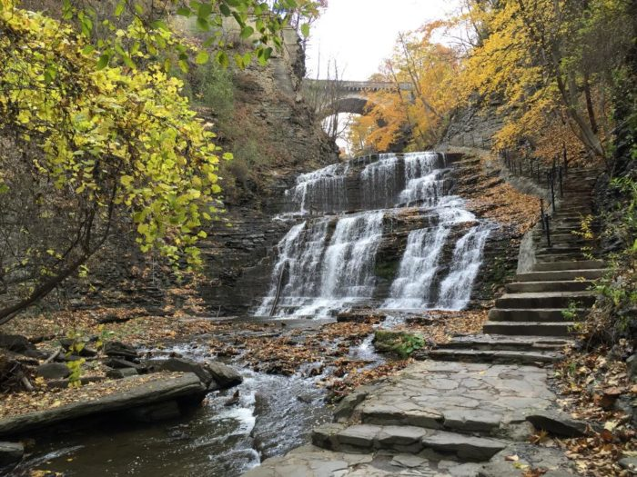 4. Six waterfalls are waiting to be seen along the Cascadilla Gorge Trail!