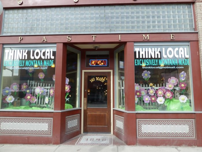 If you're out shopping, a trip to Think Local is a must.