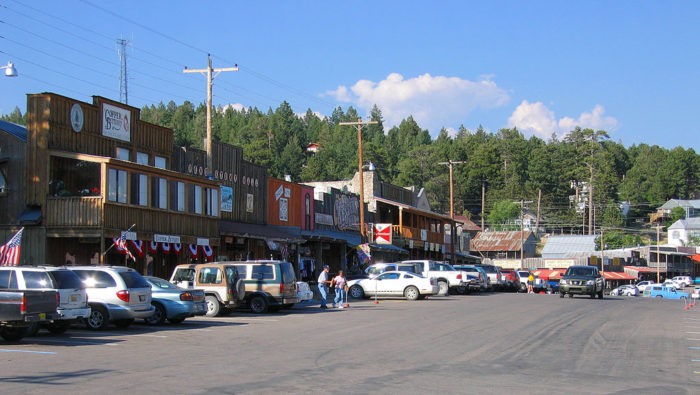 This small town has character to spare. The vibe is Old West meets mountain town.