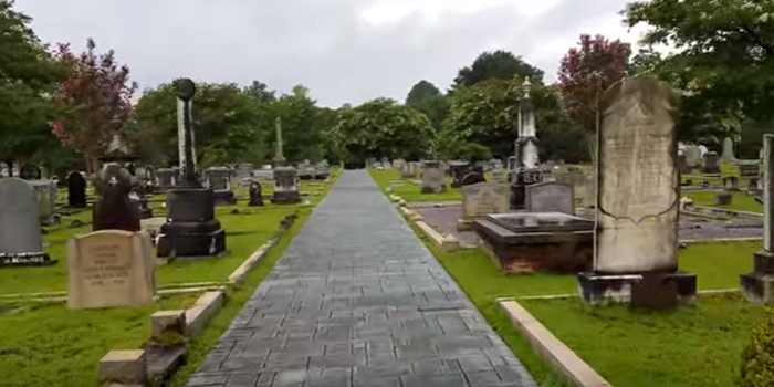 A walk around this historic town today doles out a look into the history of the community. There's a cherished  graveyard in town with graves dating all the way back to the the Civil War, and forward to present day.