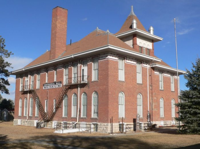 5. Centennial Hall Museum (Valentine Public School), Valentine