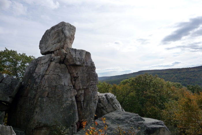 3. Wolf Rock/Chimney Rock at Cactocin Mountain