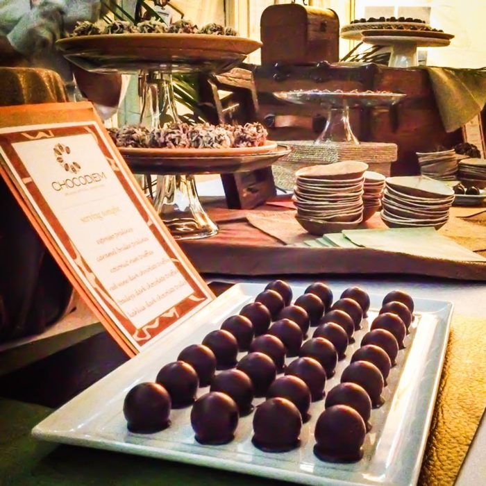 You can even have truffles and other treats custom made for your special event. They're always a hit.