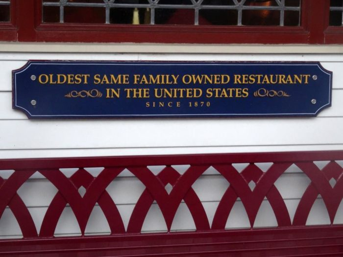 The family owned restaurants have long been favorite places for locals and out-of-town visitors to dine at.