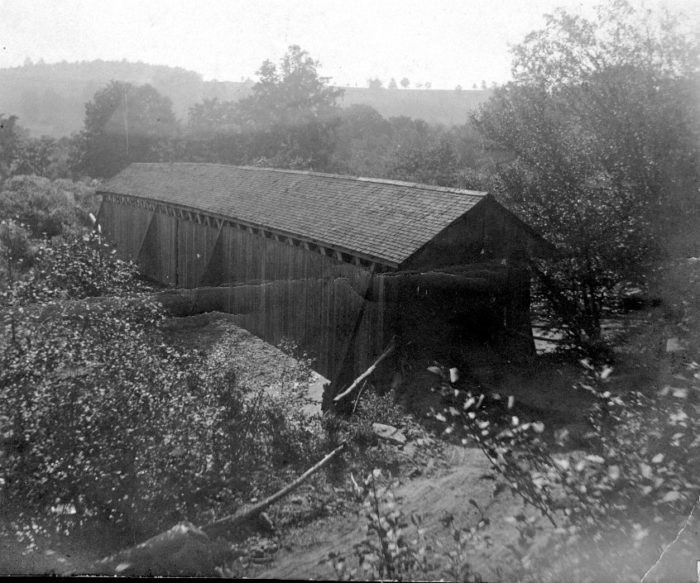 Founded in 1798, Neversink featured a picturesque covered bridge, main street, Methodist church and more.