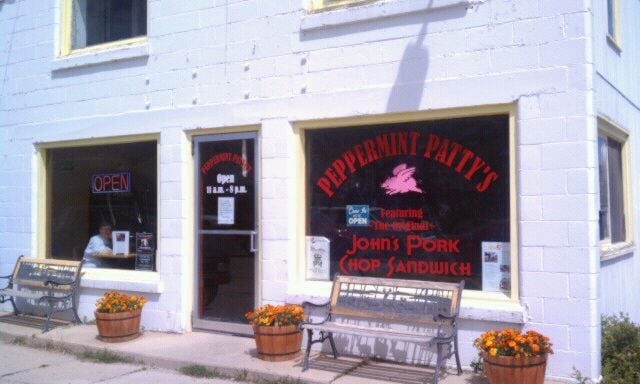 Grab lunch at Peppermint Patty's at 1212 East Park Avenue…