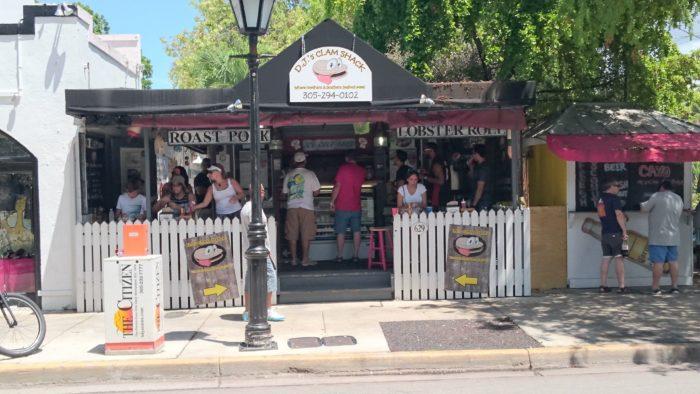 DJ's Clam Shack, Key West