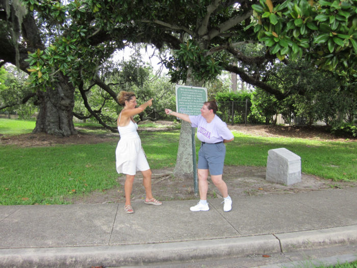 2) Dueling Oaks, Dueling Oaks Drive City Park