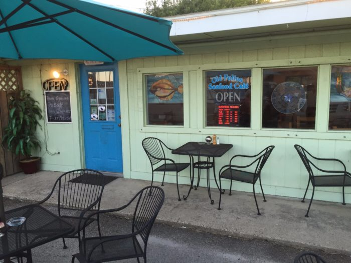 Enjoy a meal at The Old Fulton Seafood Cafe & Deli.