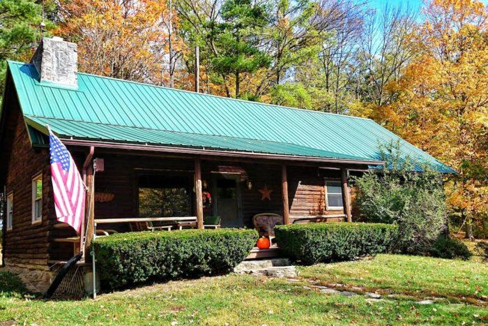 9. The Cabin at Maple Grove (Urbana)