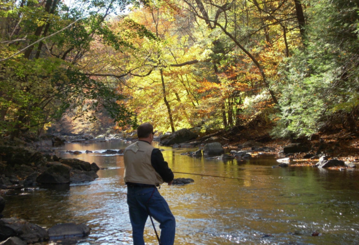 You'll find some of the best trout fishing in the Garden State...