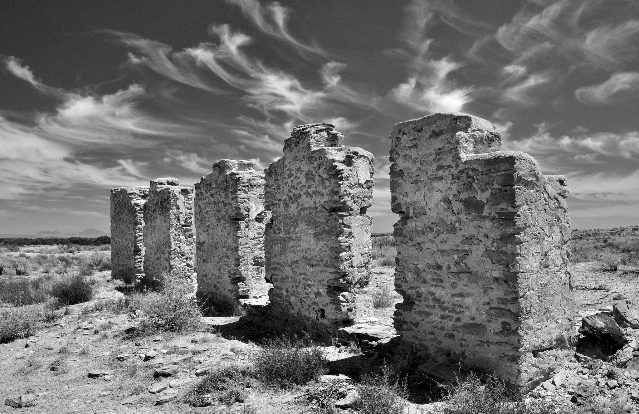 Visit The Abandoned Remains Of Fort Craig In New Mexico