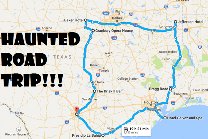 Haunted Road Trip To All The Scariest Places In Texas