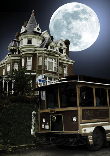 ...seasonal events like the Haunted Trolley tour, Oktoberfest, and A Taste of Atchison...