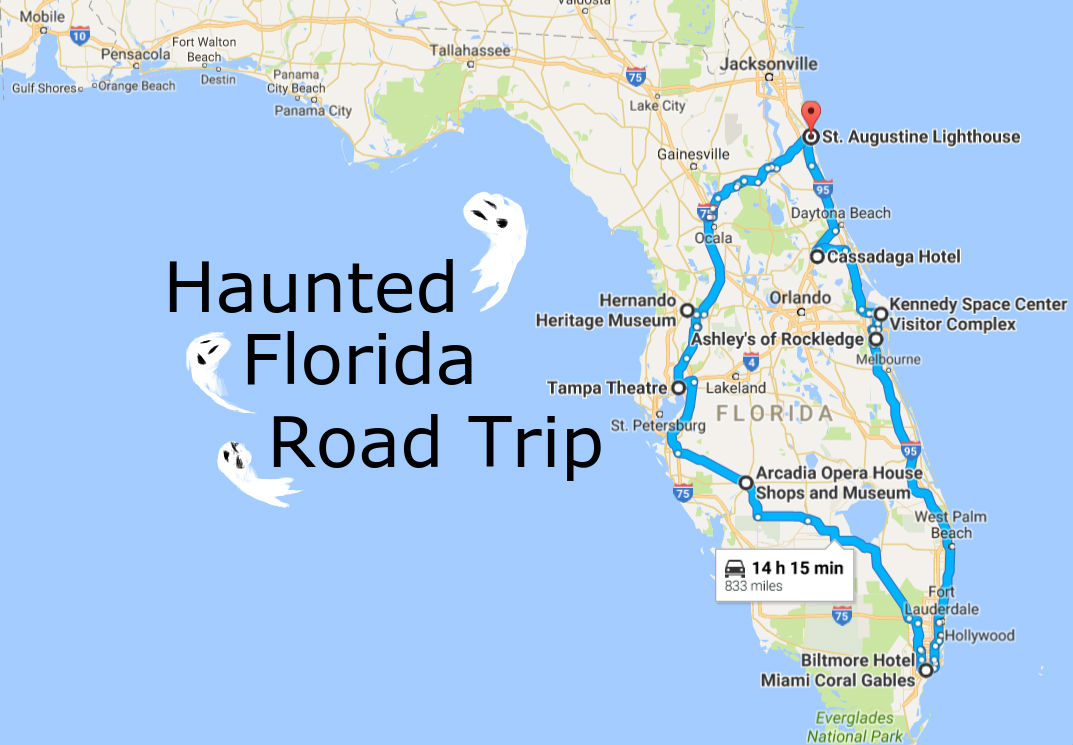 take this awesome road trip to florida 39 s most haunted places. Black Bedroom Furniture Sets. Home Design Ideas