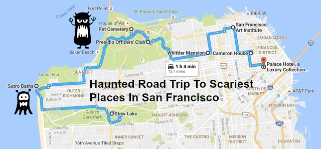 The Ultimate Haunted Road Trip Around San Francisco