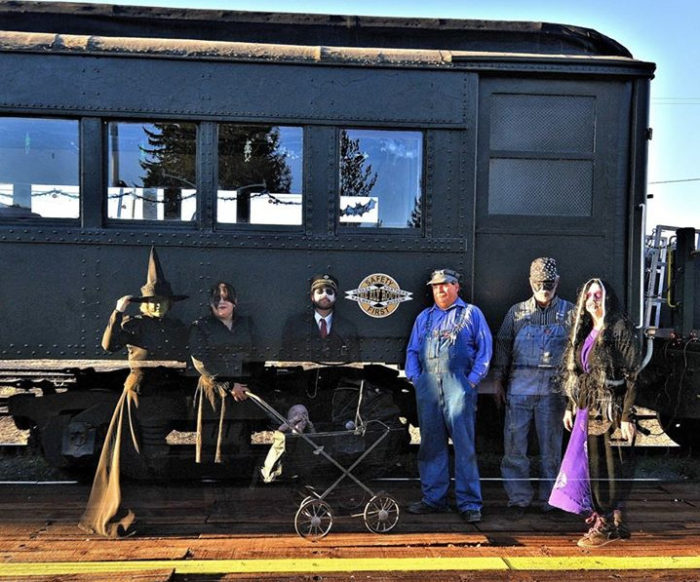 Northern Nevada Railway Haunted Train Ride