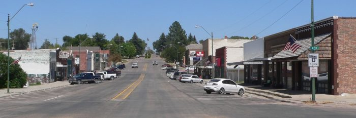 7. Hay Springs, Sheridan County, population 570