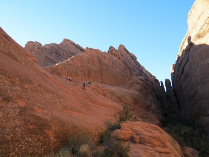 6. Devil's Garden Loop Trail, Arches National Park