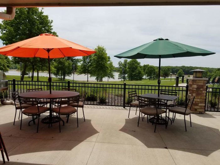 The restaurant, Rathbun Lakeshore Grille, offers lakeside views and incredible food. You can even set up a cooking class with the chef if you're feeling some culinary inspiration.
