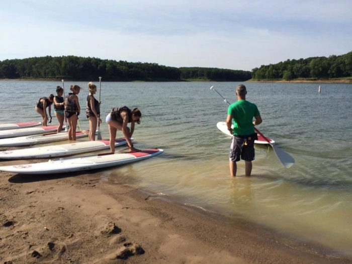 There are a lot of other water activities, including canoeing, kayaking and swimming, if the weather is warm.