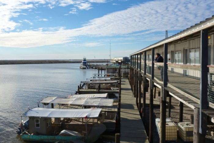 There is an active fishing community here, and a marina where you can launch a boat.