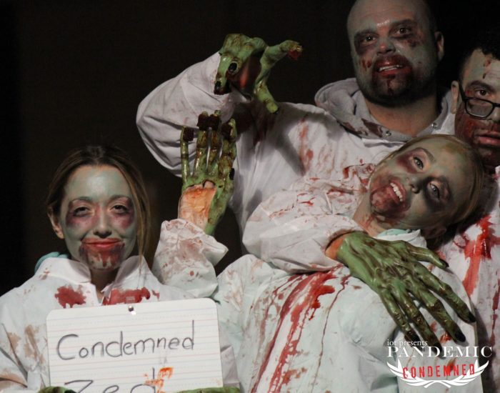 Pandemic: Condemned is an interactive performance put on by iot (Interactive Outdoor Theatre) where you are the star of the show.