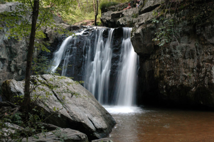 At 19 feet high, Kilgore Falls is Maryland's second highest free falling waterfall.