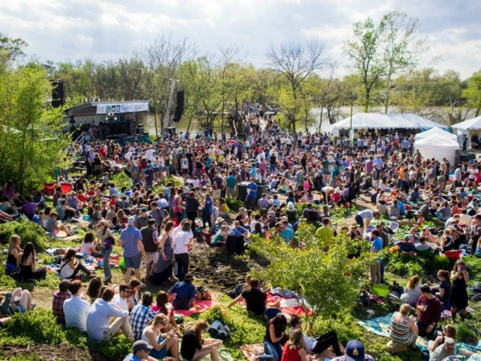 The festival, which is held every spring, is a unique celebration of folk and bluegrass set against the backdrop of the untamed wildlife.