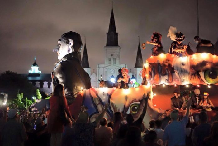 7. Annual Krewe of Boo Parade, French Quarter