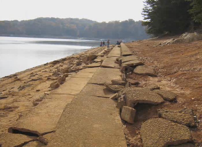 The Sunken Community At The Bottom Of Georgia's Lake Lanier
