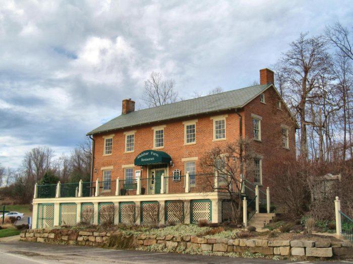 The Malabar Farm Restaurant is housed in a restored 1820s stagecoach inn.