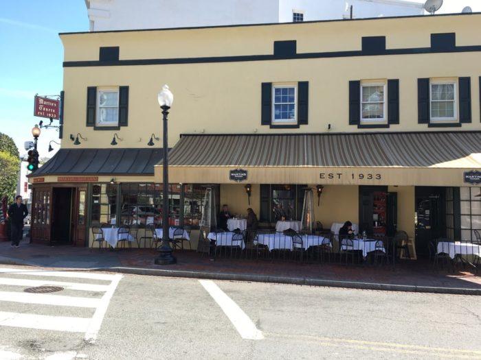 1. Martin's Tavern - 1264 Wisconsin Ave NW