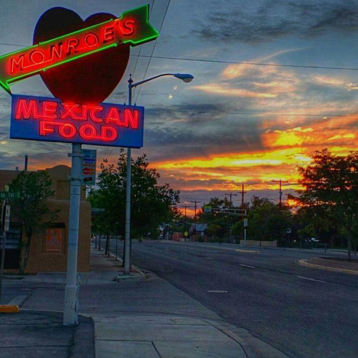 1. Monroe's Restaurant, 1520 Lomas Boulevard NW, Albuquerque and 6051 Osuna Road NE, Albuquerque