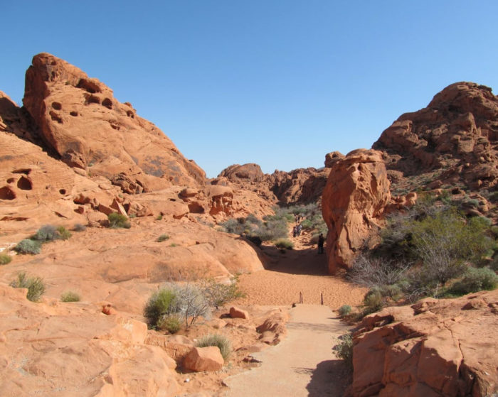 Mouse's Tank Trail (Valley of Fire State Park)