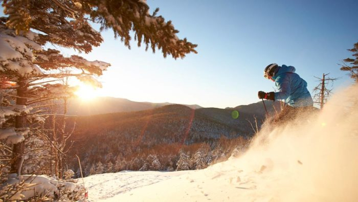 During the winter, the resort is the destination of choice for people who want to ski on New Hampshire's tallest mountains.