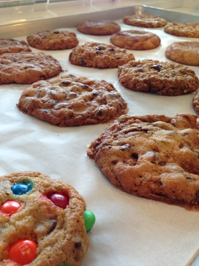 Murray's doesn't just stop at cookies, they bake an assortment of warm, ooey-gooey cookies each day!