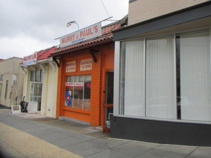 4. Murry & Paul's Restaurant - 3513 12th St NE