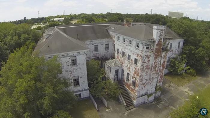 8. Abandoned Building M17, Charleston Navy Base