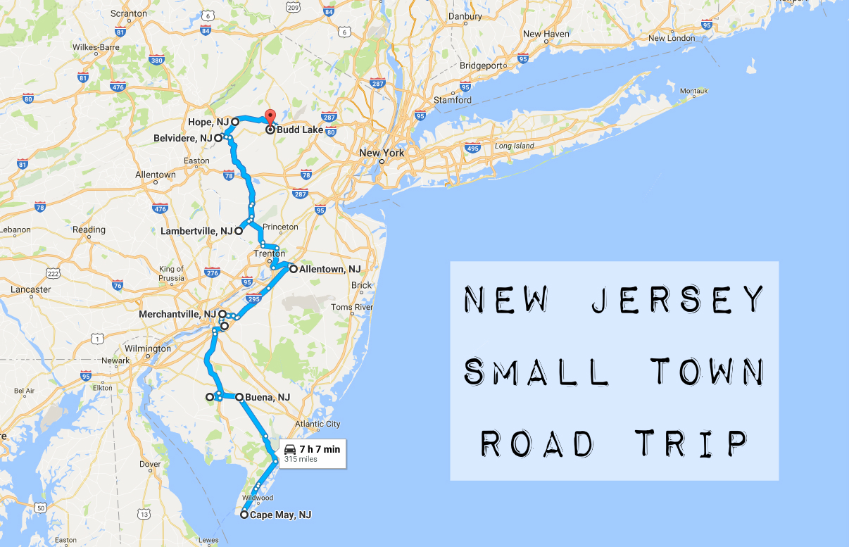 Take This Road Trip Through The Best Small Towns In New Jersey
